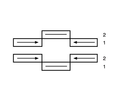 Three sash Door: two slide, one fixed
