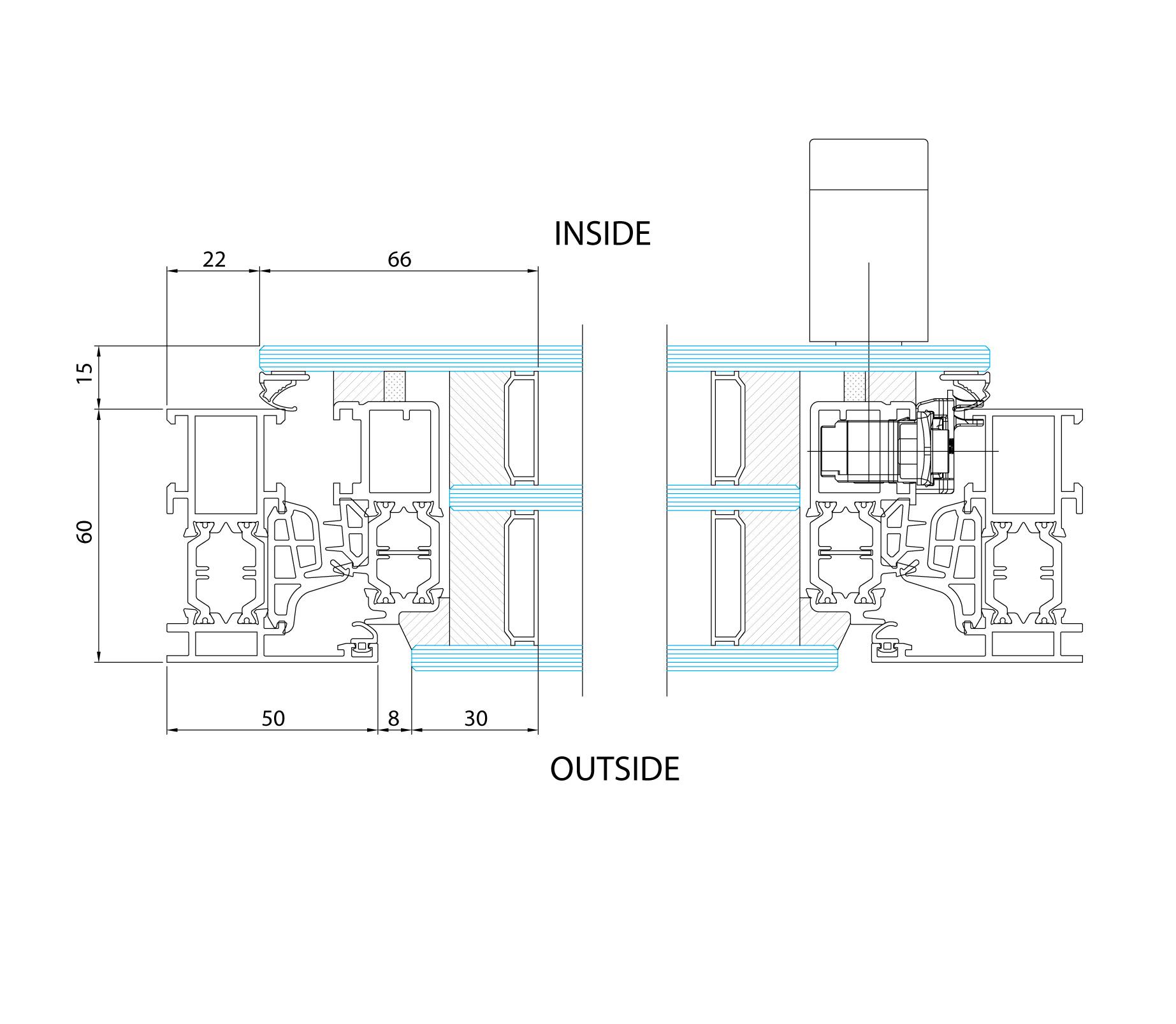 Es zeroframe window es finestra glazing solutions bluebell for Es finestra