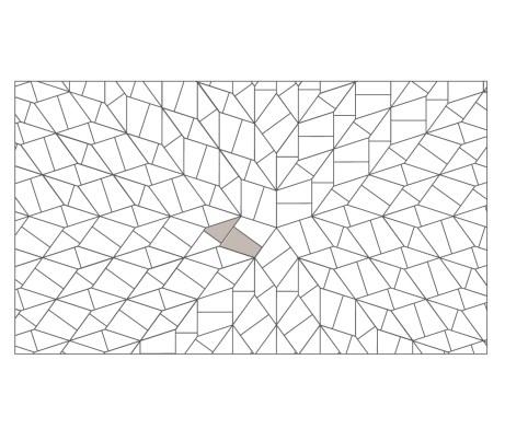 Slide Geometric Laying Pattern - Radial