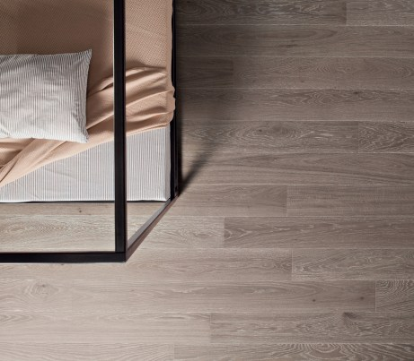 Michelangelo grey Sustainable Oak Strip Flooring