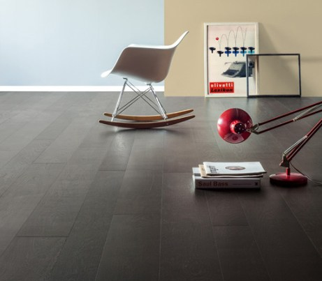 Michelangelo black Sustainable Oak Wooden Flooring