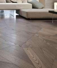 Geometric Designer Wooden Flooring