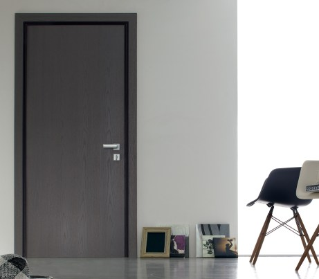 Classic interior Security Door in grey