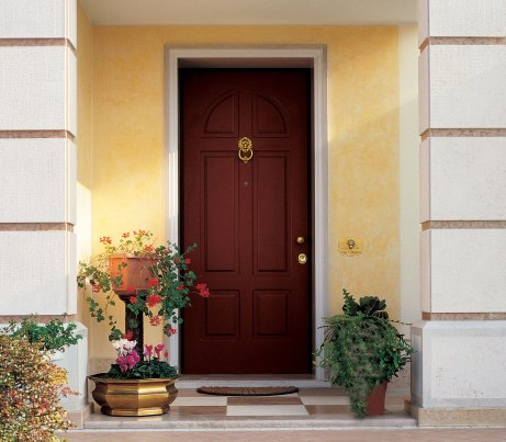 Classic Front Door with reinforced steel core