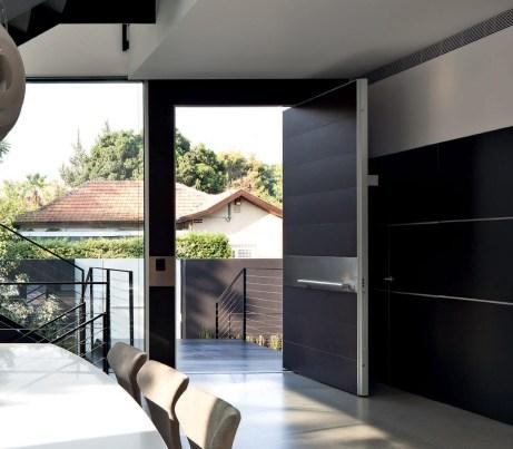 Luxury Security Door in black