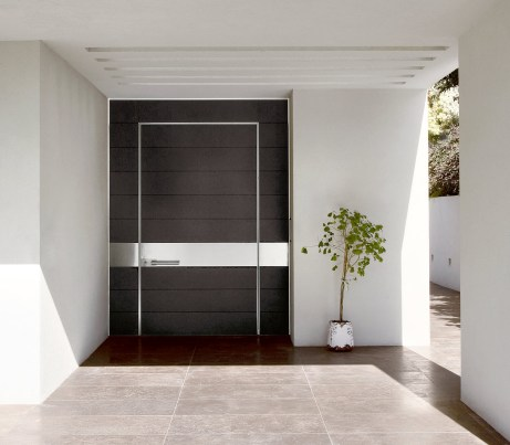 Architectural Wall System and Pivot Door