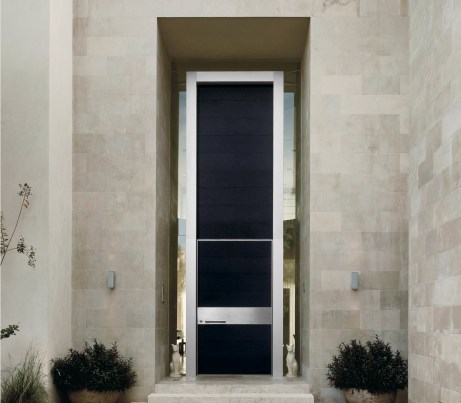 Vertical Wall System with Door
