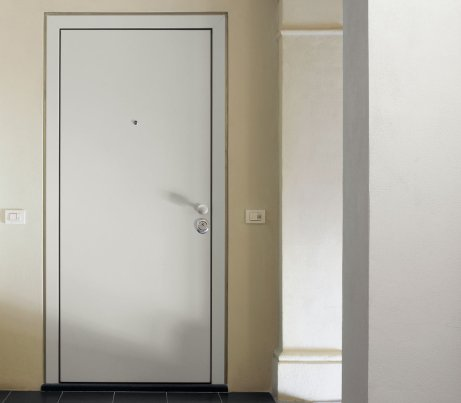 Flush Contemporary Security Door