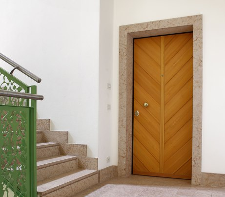 Wood clad Security Door