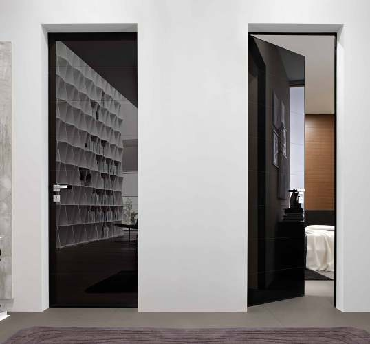 black security doors for interior