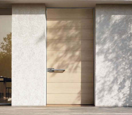 Cream Architectural Pivot Door