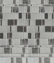 Grey tiled Door Mosiac