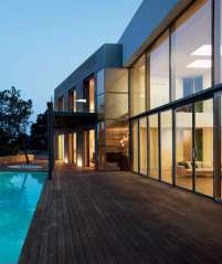 Contemporary fenestration systems with Lift-and-Slide Doors
