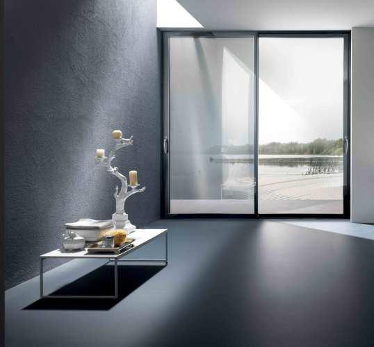 Lift-and-slide passive patio door system