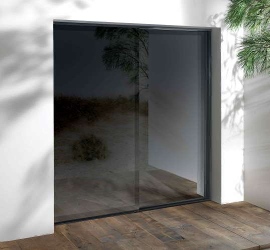 Lift-and-slide french doors with passive house rating