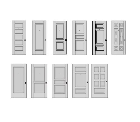 Classic Door Models from Oikos