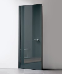 Glass Concealed Frame interior Door