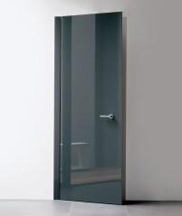 Glass Concealed Frame interior Door