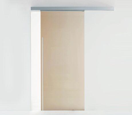 Sliding glass door with Exposed Runner