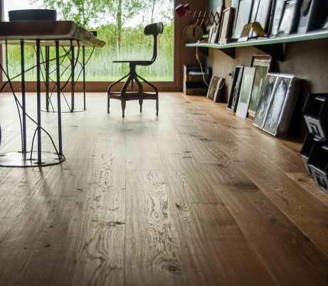 Natural Oak Flooring with FSC rating