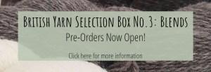 British Yarn Selection Box No.3 Now Available