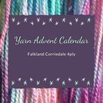 Sock Yarn Advent Calendar: Falkland Corriedale 4ply
