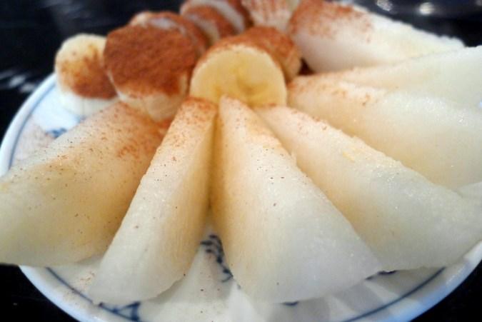 1001 pear banana fruit course