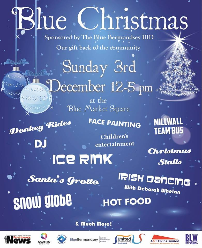 Blue Christmas 2017, a fantastic day out for everyone