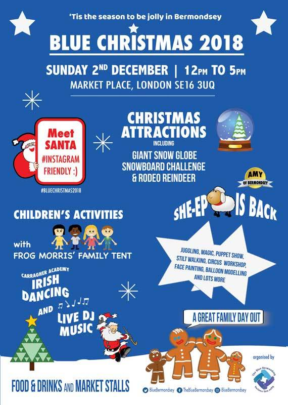 Blue Christmas 2018, a fantastic family day out in The Blue