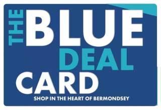 Blue Deal Card