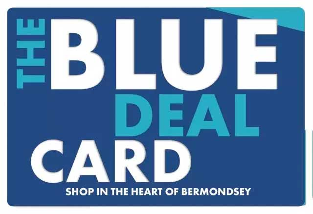 Blue Deal Card