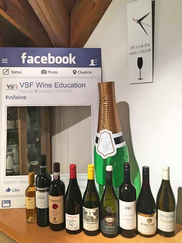 VSF Wines, it's wine o'clock