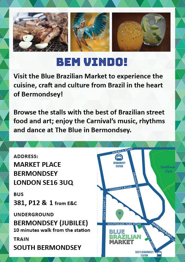 Blue Brazilian Market 2020 02 22  Poster in English