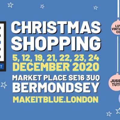 make it blue Christmas christmas shopping