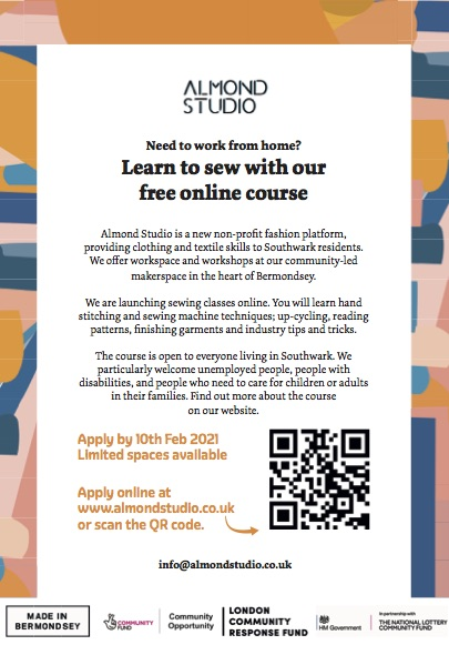 Almond Studio Free Sewing Course