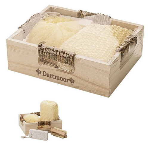 Wood Spa Set