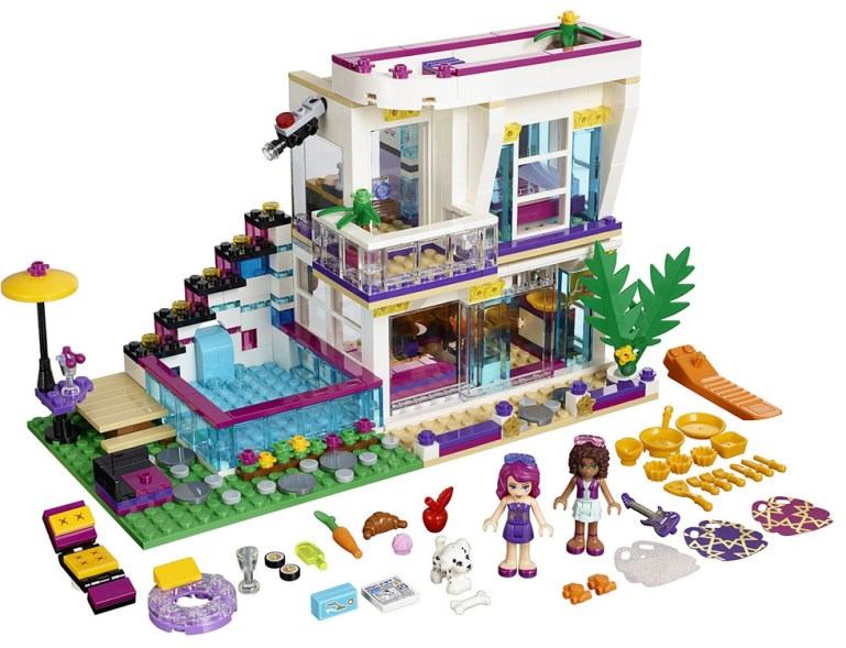 Livis Pop Star House and Accessories