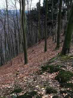 Steil bergab