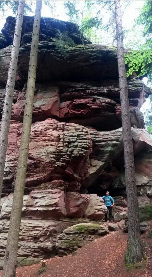 Was für ein riesiger Felsen