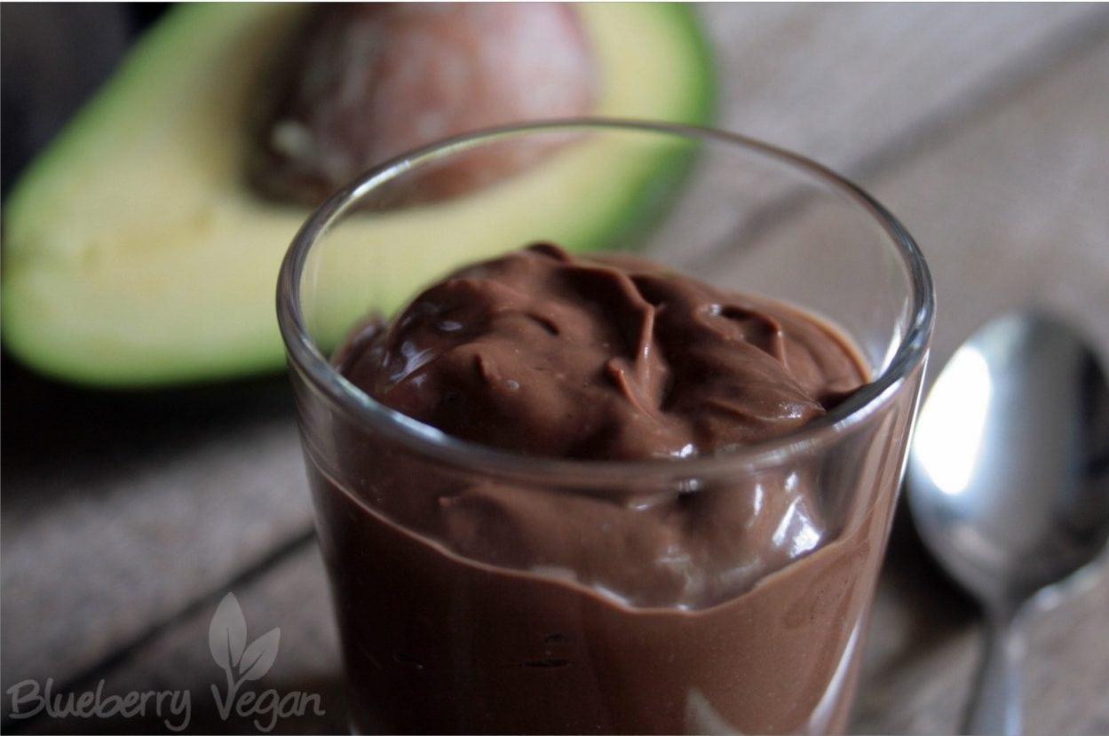 Schokoladencreme mit Avocado und Joghurt