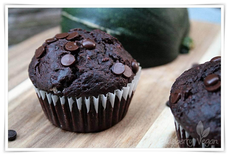 zucchini schoko muffins blueberry vegan. Black Bedroom Furniture Sets. Home Design Ideas