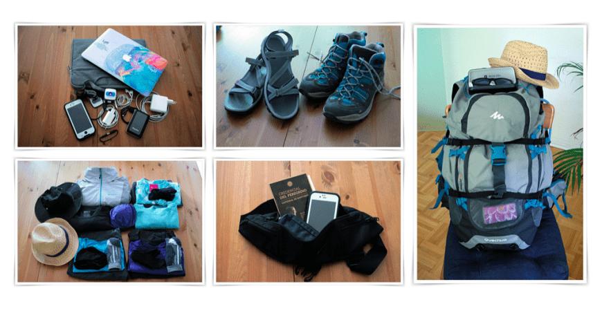 Mein Jakobsweg – Die Packliste