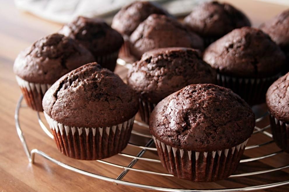 Schokoladenmuffins vegan