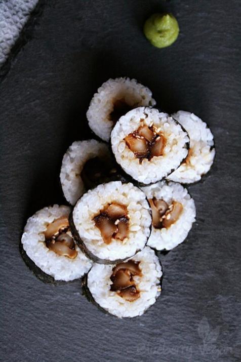 Maki mit Shiitake
