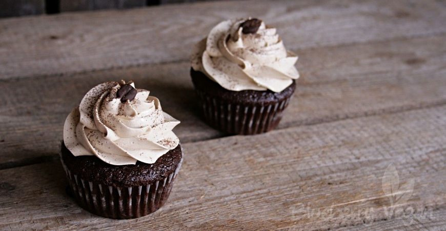 Herbe Mokka Cupcakes