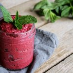 Beetroot Pesto with Mint