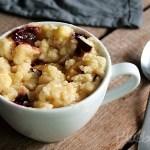 Schneller Pflaumen-Streusel-Tassenkuchen