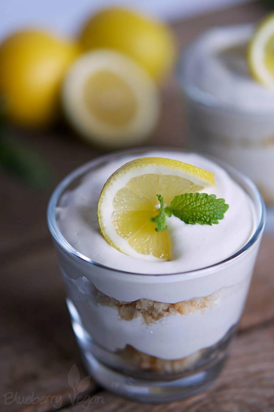 Fruchtiges Zitronen-Tiramisu