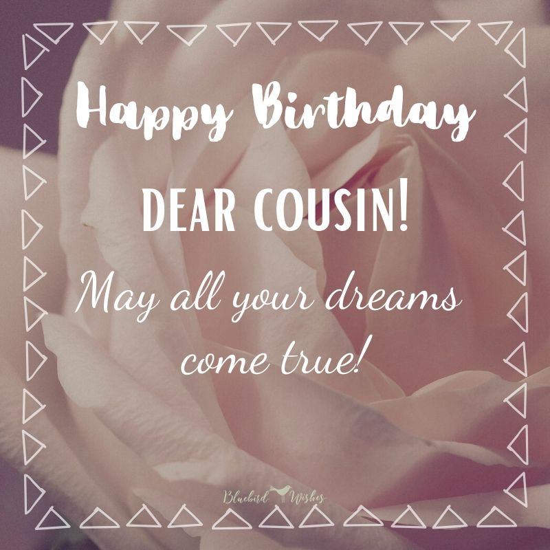 Happy Birthday Wishes For Cousin Sister Bluebird Wishes