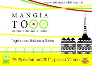 Cartolina promozionale evento MANGIATO